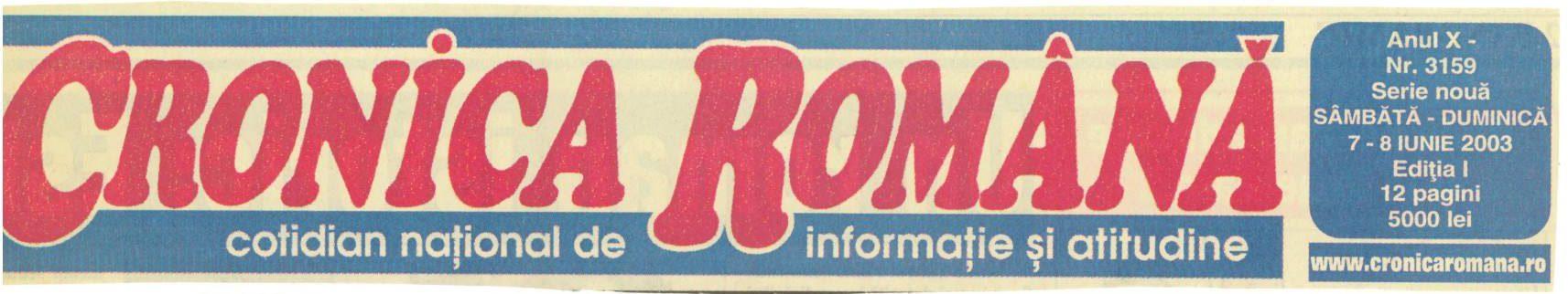 Cronica Română
